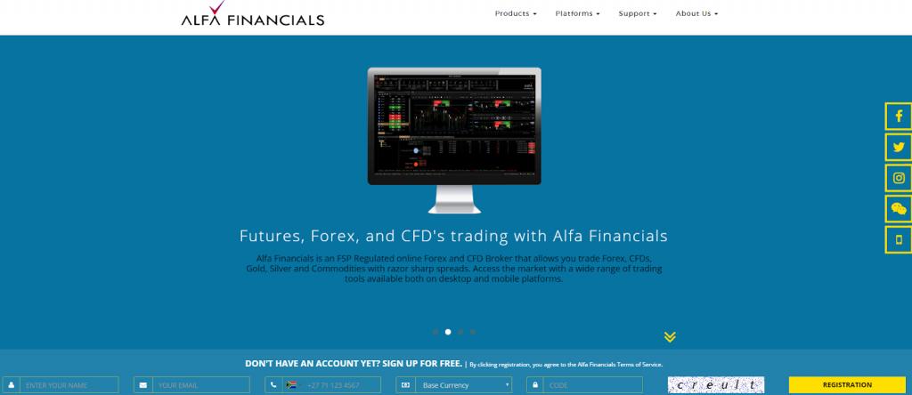 AlfaFinancials.co.za review