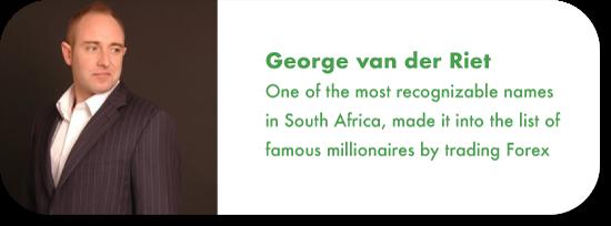 George van der Riet forex trading south africa
