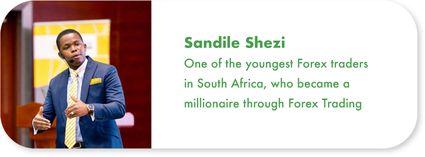 Sandile Shezi list of successful forex traders in south africa