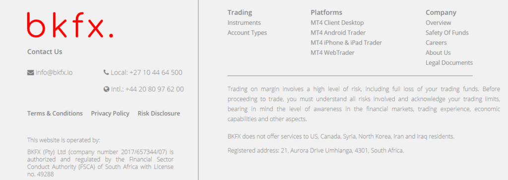BKFX review